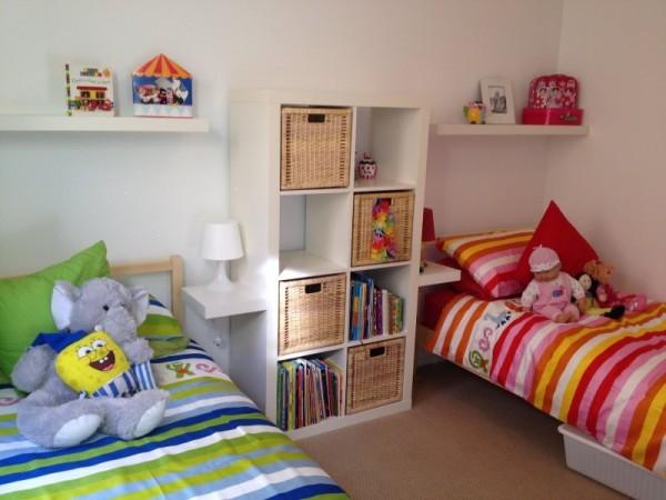صور - اجمل ديكورات غرف الاطفال المزدوجة