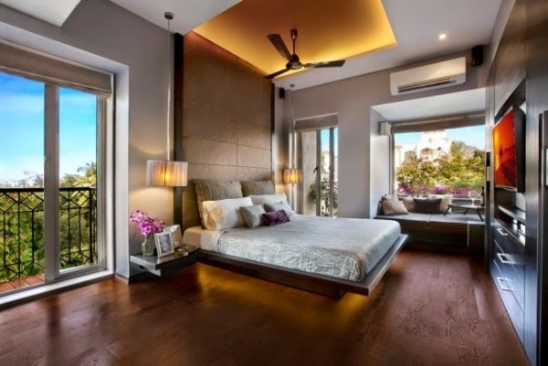 صور - اشيك تصاميم الجبس بورد لغرف النوم والمعيشة بالصور