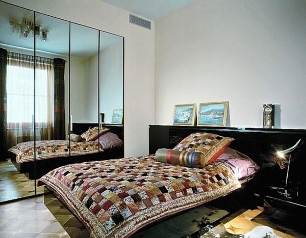 الفخامة فى غرف النوم الصغيرة