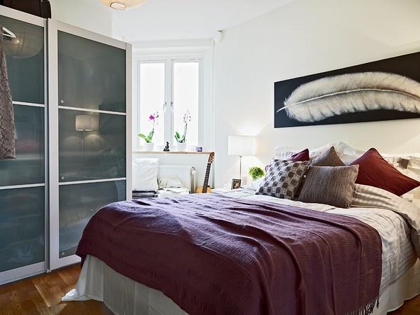 اضافة مساحة فى غرف النوم الصغيرة باختيار الدواليب الجرارة