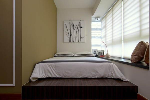 تصميم سرير مودرن لغرف النوم الصغيرة