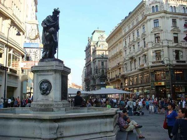 غرابين من اهم الاماكن السياحية في فيينا