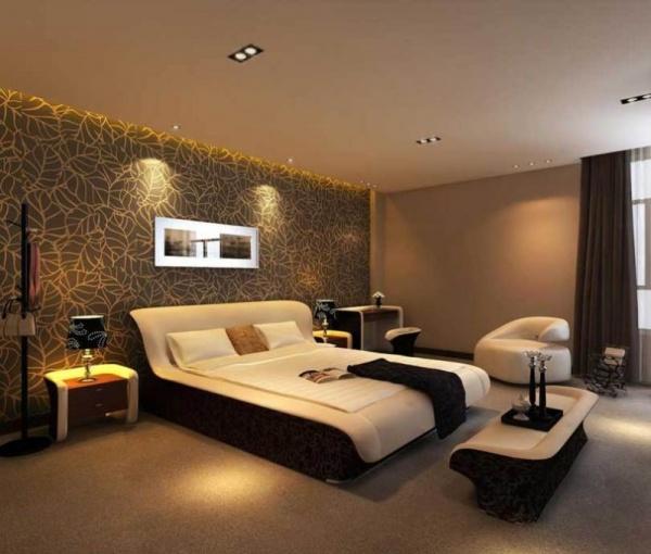 اجمل صور ديكور غرف النوم بالالوان المحايدة   نورليك