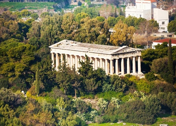 معبد هيفايستوس من اشهر المعابد اليونانية