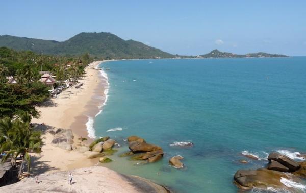 شاطئ لاماي من افضل شواطئ تايلاند