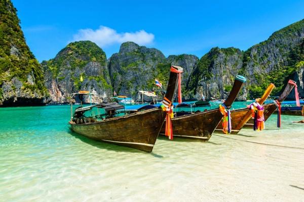 شاطىء المايا من افضل شواطئ تايلاند