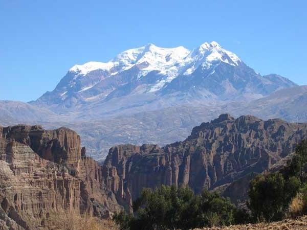 جبال الانديز في بيرو