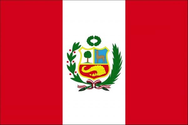 علم دولة بيرو