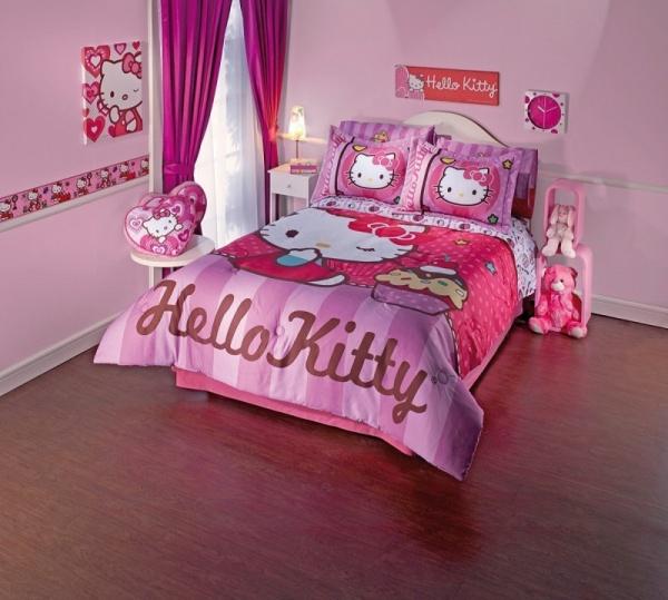 ديكورات غرف نوم كيتي المثيرة